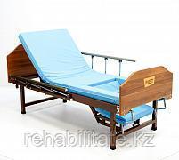 Механическая кровать недорогая с функцией кардиокресло и независимыми винтовыми регулировками. MET KARDO LIGHT