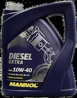 Моторное масло MANNOL Diesel Extra 10W-40 API CH-4/SL 5L