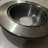 Тормозной диск задний MITSUBISHI PAJERO IV, MONTERO 2006, TRW, GERMANY, фото 4
