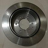 Тормозной диск задний MITSUBISHI PAJERO IV, MONTERO 2006, TRW, GERMANY, фото 5