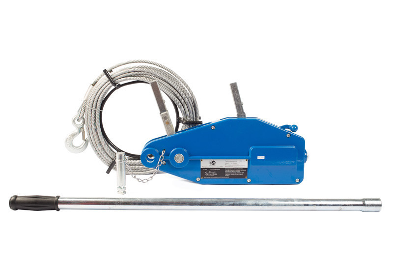 Лебедка МТМ 1,6Т 12М рычажная тросовая TOR 1600 (тип ZNL)