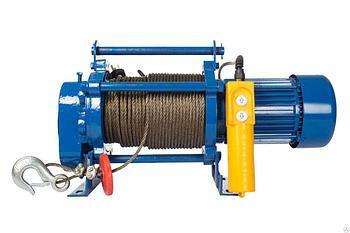 Лебедка тяговая электрическая 0,5Т 220В TOR CD-500-A с канатом 30М