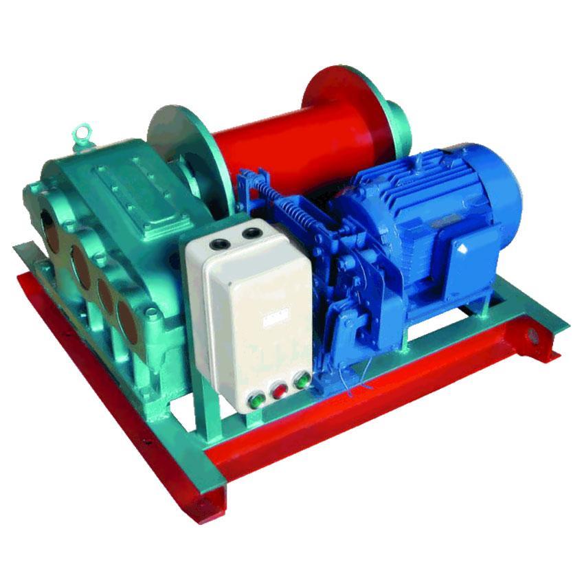 Лебедка тяговая электрическая 1Т 120М TOR (JM) (без каната)
