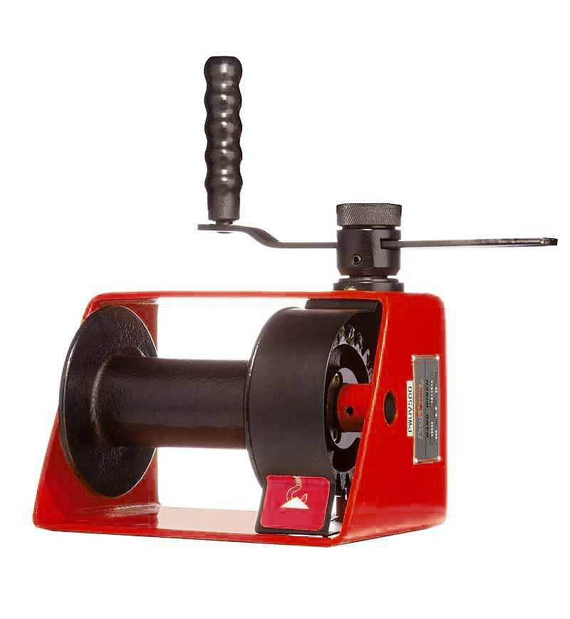 Лебедка червячная 1,0Т 35М барабанная TOR VS 1000
