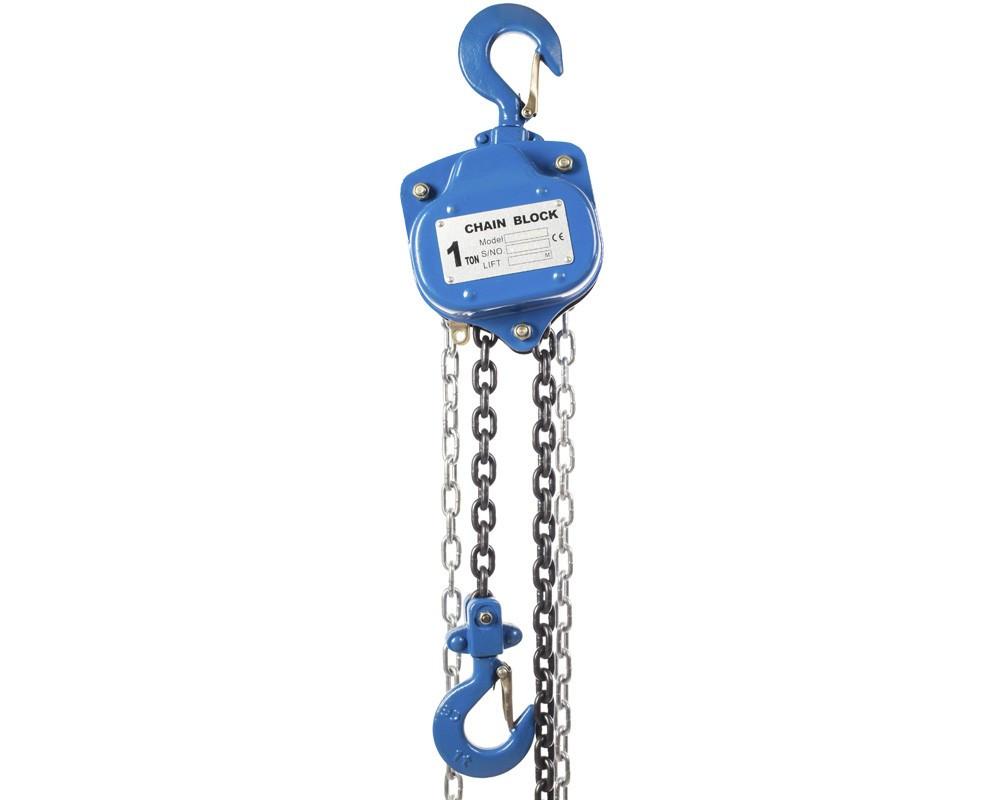 Таль г/п 1,0Т цепная ручная TOR ТРШ 1,0 ТХ3 М (тип 622-A)