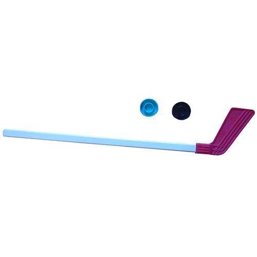 Клюшка детская хоккейная 80 см +2 шайбы КХ-1-55