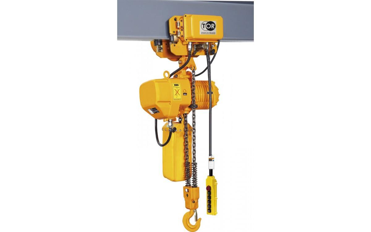Таль электрическая 3,0Т 12 М цепная TOR HHBD03-03T