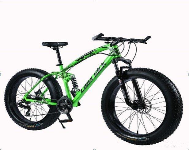 "Велосипед фэтбайк LauxJack Panthera ATX 8 Series 26"" резина 4.0 Green"