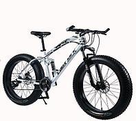 "Велосипед фэтбайк LauxJack Panthera ATX 8 Series 26"" резина 4.0 White"