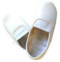 Чешки иск. кожа р. 33, цв. белый