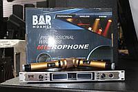 Радиомикрофон Bar&Dance GR672 золотые