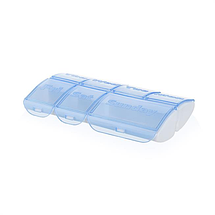Органайзер для хранения таблеток и витаминов из 7 ячеек «Medic Pill Box», фото 3