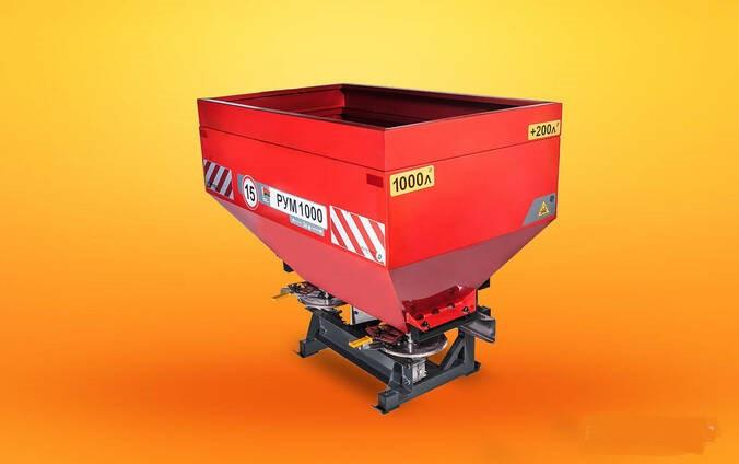 Двухдисковый разбрасыватель удобрений РУМ-1200 D-pol