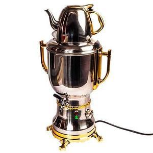 Самовар электрический с заварочным чайником SAMOVAR-020 [2200 Вт; 2,8 л]