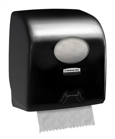 7376 Aquarius чёрный диспенсер для бумажных полотенец в рулоне, фото 2