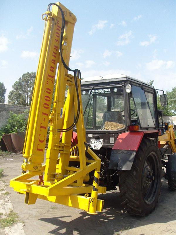 Гидрострела тракторная серии ГСТ-1000 Диапазон