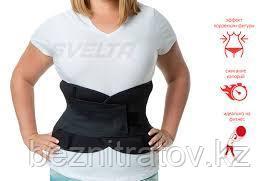 Фитнес корсет пояс для похудения живота (коррекция талии + эффект сауны + поддержка спины ) SV3 Svelta