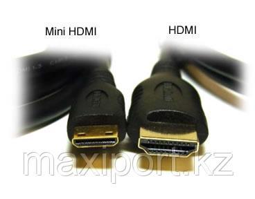 Minihdmi на hdmi кабель для фотоаппаратов и камер, фото 2