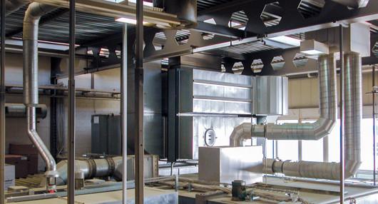 Система вентиляции торговых центров