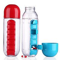 Органайзер-бутылка для таблеток и витаминов