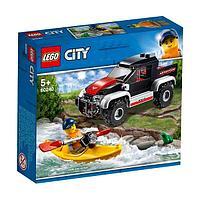 LEGO City Конструктор ЛЕГО Город Сплав на байдарке