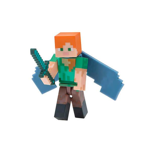 Minecraft  Майнкрафт фигурка Alex with Elytra Wings