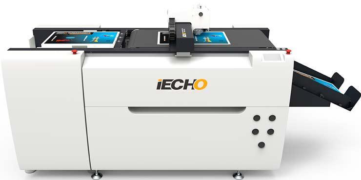 Планшетный режущий плоттер с автоматическим вакуумным самонакладом материала iECHO PK-0705