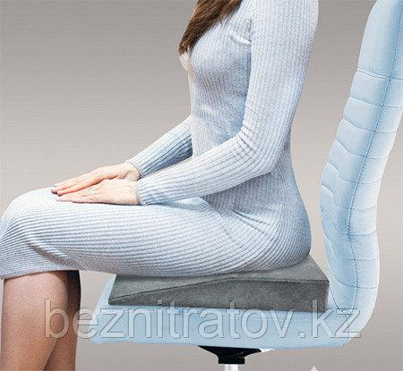 Сидушка на любое сиденье (от варикоза, геморроя, плохой осанки, усталости спины и болей в копчике) (Россия)