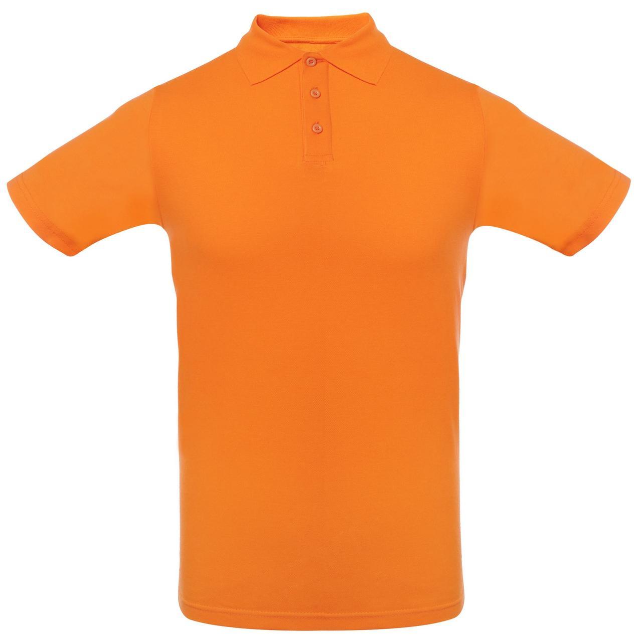 Футболка Поло Оранжевая.200 гр.XS