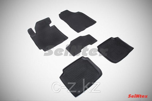 Резиновые коврики для Hyundai Cerato 2013-н.в., фото 2