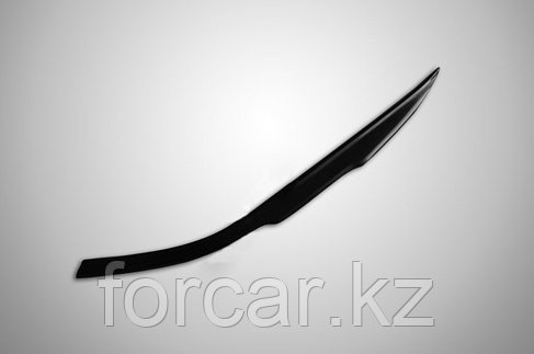 Накладки на передние фары (реснички) Chevrolet Cruze 2009-2012, фото 2