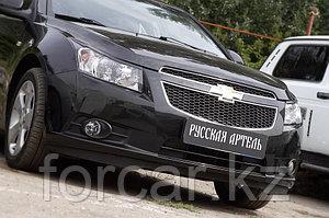 Накладки на передние фары (реснички) Chevrolet Cruze 2009-2012
