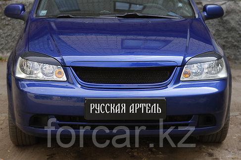 Накладки на передние фары (реснички) Chevrolet Lacetti Седан 2004-, фото 2