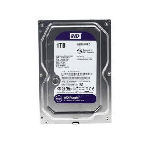 Жесткий диск для видеонаблюдения 1Tb Western Digital Purple