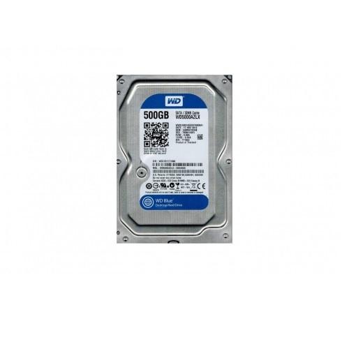 Жесткий диск  HDD 500Gb Westen Digital Blue  SATA  для компьютеров