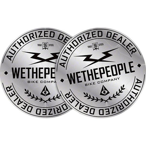 Wethepeople  наклейка Authorized Dealer