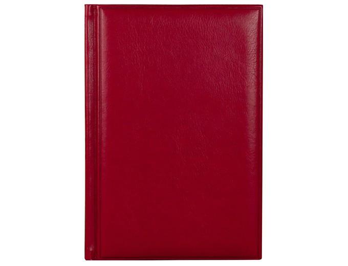 Датированный ежедневник А5 Frame (Фрэйм) красный