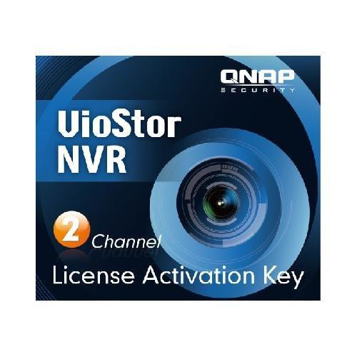 QNAP LIC-CAM-NVR-2CH Лицензия для NVR на подключение двух IP-камер