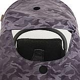 Прогулочная коляска Pituso Style  Camouflage purple S316B0, фото 6