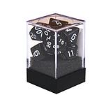 Набор кубиков Единорог черный, D4, D6ц, D8, D10, D12, D20, D%, фото 2
