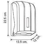 """Диспенсер для листовой туалетной бумаги Vialli Z уклад (""""металлик""""), фото 3"""