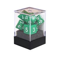 Набор кубиков Единорог зеленый, D4, D6ц, D8, D10, D12, D20, D%, фото 1