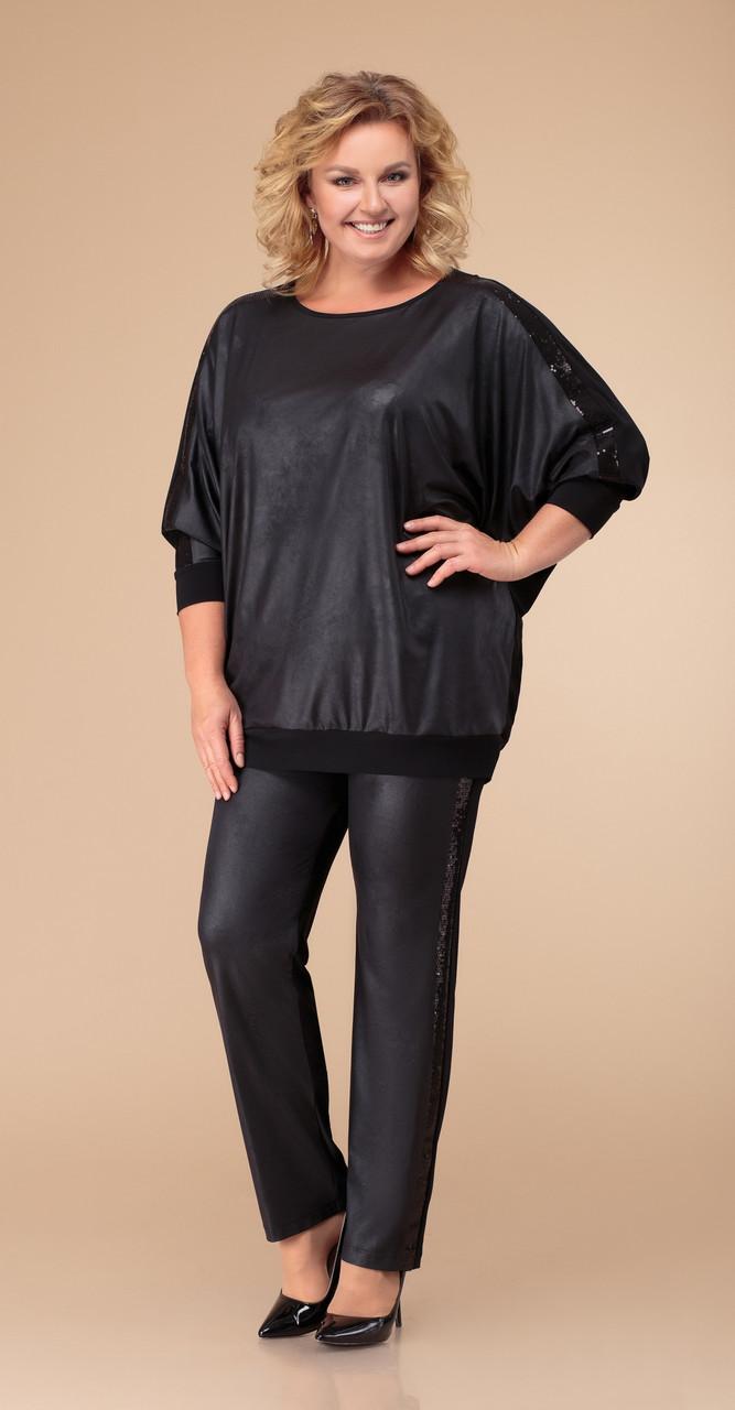 Костюм Svetlana Style-1290, черный, 54