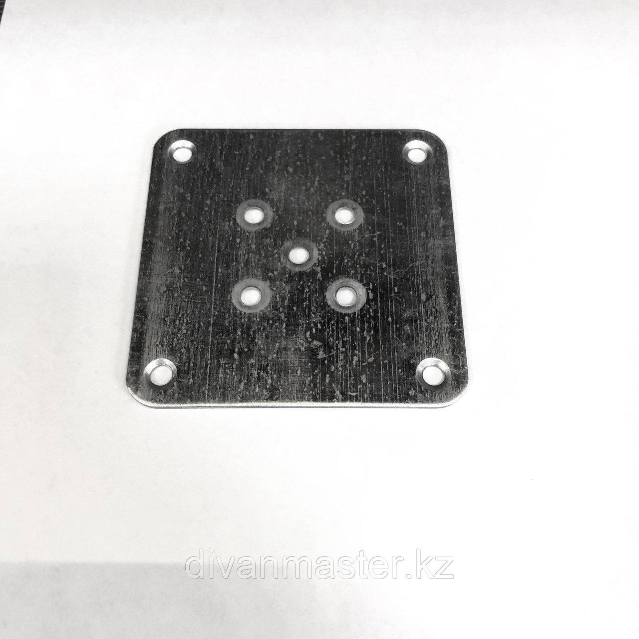 Пластина для крепления деревянных, мебельных опор 8,5х8,5см