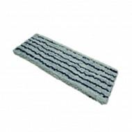 Моп микроволоконный серый с синей полосой