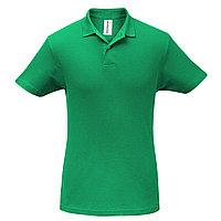 Футболка Поло Зеленая.200 гр.2XL