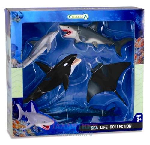 Collecta набор подводный мир 5 фигурок