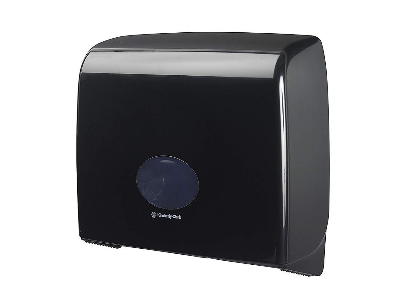 7184 Aquarius диспенсер для туалетной бумаги в рулонах Jumbo чёрный производство Kimberly Clark Professional