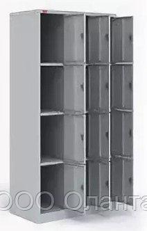 Шкаф металлический для сумок 12 ячеек (900х500х1860) арт. ШРМ312