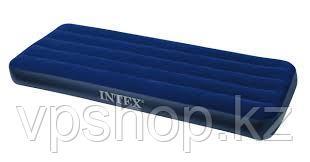 Односпальный надувной матрас Intex 68950 (191x76x22 см)